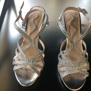 Silver Sandales